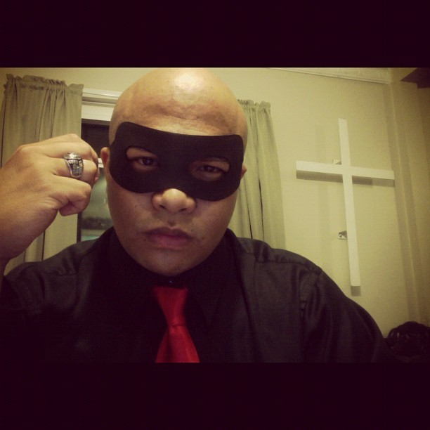 "I hear ""masquerade"" and think ""superhero."" (Taken with instagram)"