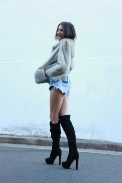 "Wearing: Wanted Shoes and Custom made studded shorts from ""Festival Denim"" Model: Aley Greenblo: http://aleygreenblo.tumblr.com/ Stylist: http://jessiemcnaught.tumblr.com Photographer: (http://tiny.cc/tygqbw)"