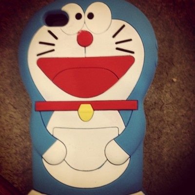 DORAEMON ❤Baha. My new case :) (Taken with instagram)