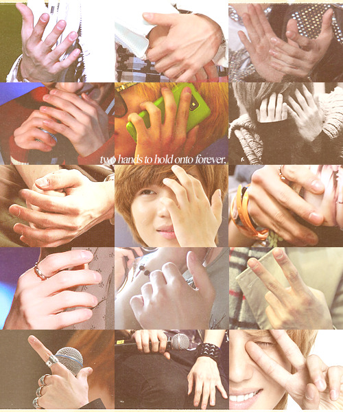 it's funny how his hands are so manly, yet they look so nice, clean and soft. i want to hold them. and never let them go.lee taemin's hands x requested by anon