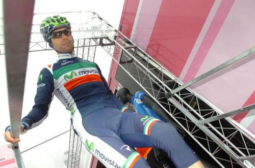 Giovanni Visconti (Movistar Team) Photo: © Sirotti (via Giro D'Italia 2012: Photos | Cyclingnews.com)