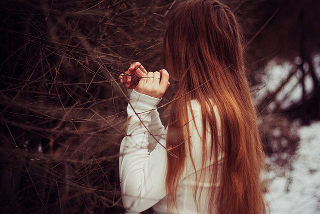 arcanja:  to listen what forest is talking about by laura makabresku on Flickr.