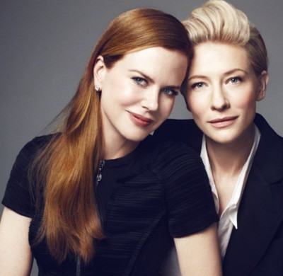 If you could create a fantasy lesbian couple, Nicole Kidman & Cate Blanchett would look pretty cute… #fantasylesbiancoupleWho would you put together?