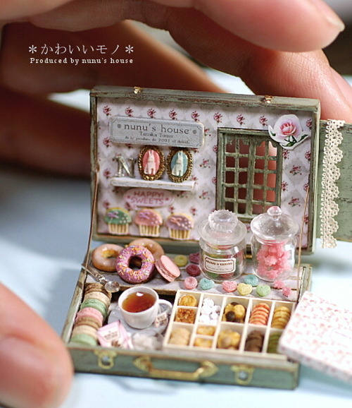 cysfoodworld:  OMG OMG SO CUTE *Q*  Its like something out of Anrietty