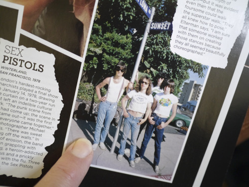 My Ramones photo featured in the Spring 2012 issue of California Style magazine on page C 105! Photo by Brad Elterman