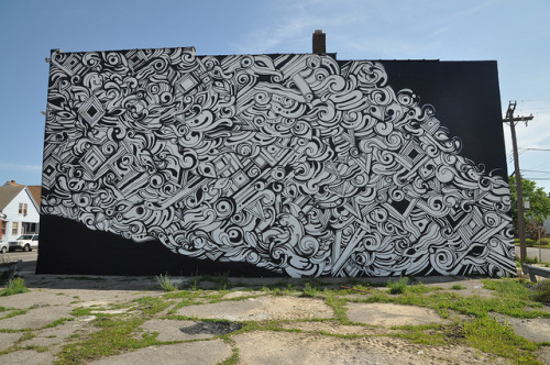 Reyes Mural. Detroit 2012 on Flickr.Reyes Mural. #Detroit #Graffiti #Hamtramck