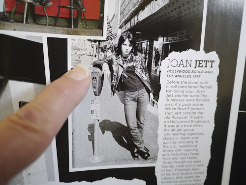 One rock icon who was seduced by California during the 70's was Joan Jett. Thank you California Style Magazine for including my 1977 Joan photo in their Rock Steady article appearing in their Spring 2012 issue.  Photo by Brad Elterman