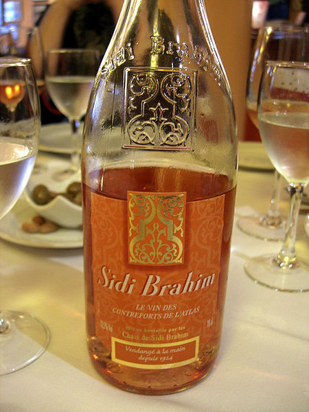 Sidi Brahim is a range of branded wines produced in the Atlas mountains, mainly in Algeria but also in Tunisia and Morocco. The wines are blended and bottled or filled into bag-in-boxes in France, and are primarily sold there. It was the second-best selling foreign wine in France, behind Boulaouane (also a Castel brand), as of 2005. The production volume is around three million bottles annually.The wine has been named after the Battle of Sidi-Brahim (1845). The grape composition of Sidi Brahim and the range of wines offered has varied throughout the years, but in 2010 the composition is indicated as the following: Red wine: Cabernet Sauvignon (50%), Syrah (30%), and Merlot (20%). Rosé wine: Cinsault (40%) and Grenache Gris (60%). White wine: Chardonnay (100%).