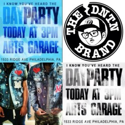 3-9pm #DayParty with @80sbaby_rick and @sungun21 featuring The #DNTN Brand (Taken with instagram)