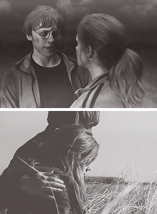 """I was thrilled really. Ron was the right person for her to be with. I think it was amazing that they had kids. It was perfect."" -Emma Watson"