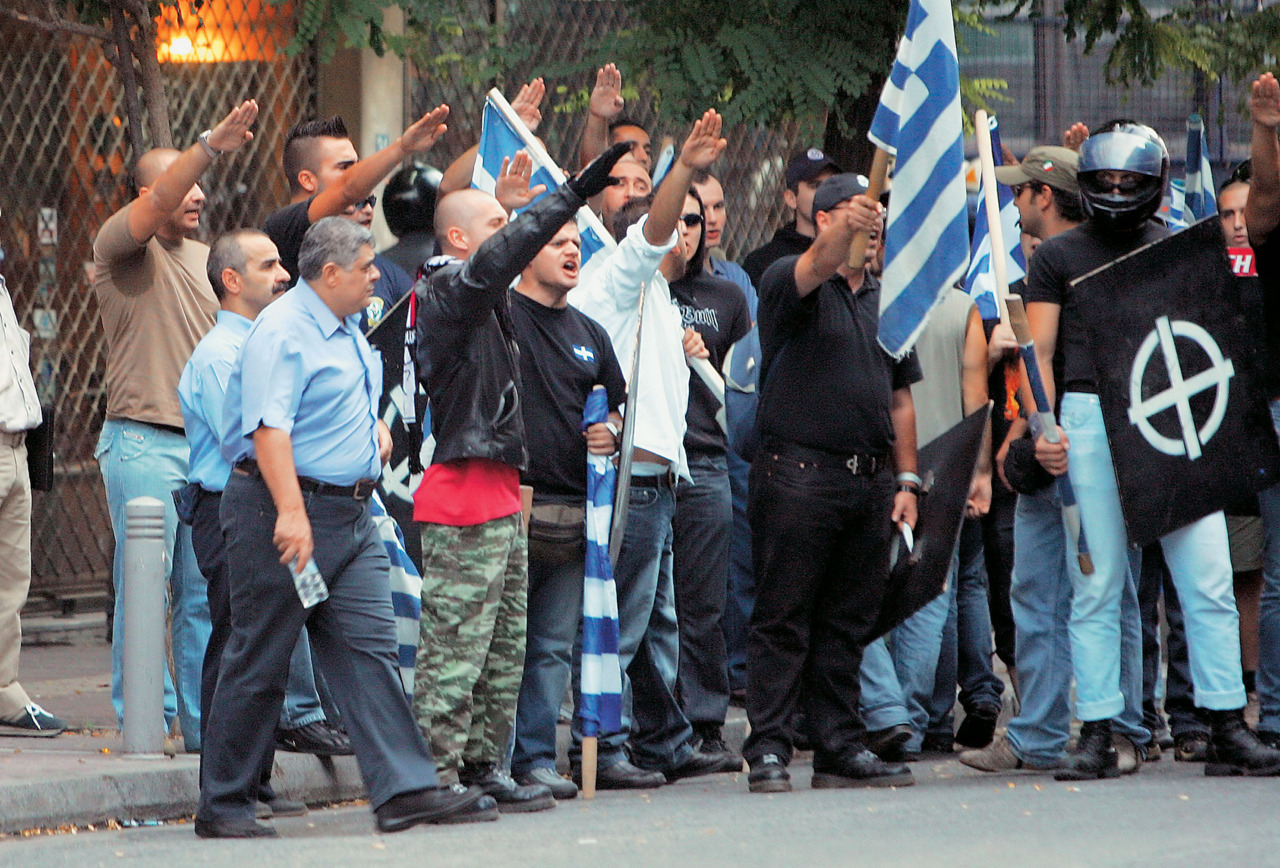 "Greek Elections 2012: The snake's egg just hatched. ""Golden Dawn"", the unashamedly neo-Nazi party enters the Greek Parliament for the first time in history, counting up to 21 seats. May God help Greece."