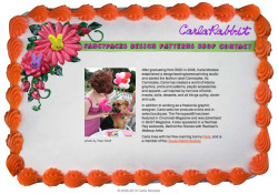 Website Design | made from real birthday cake