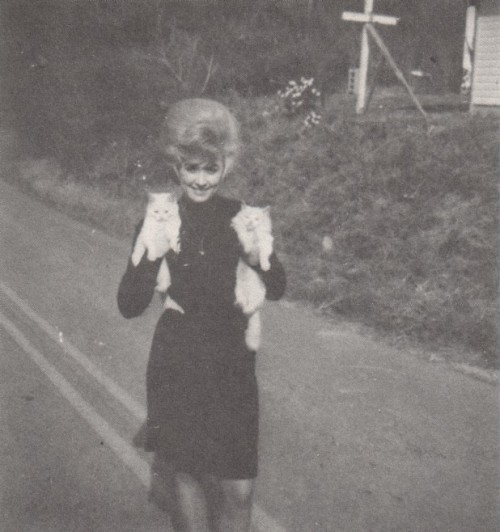 Dolly Parton in Tennessee, early 1960s.