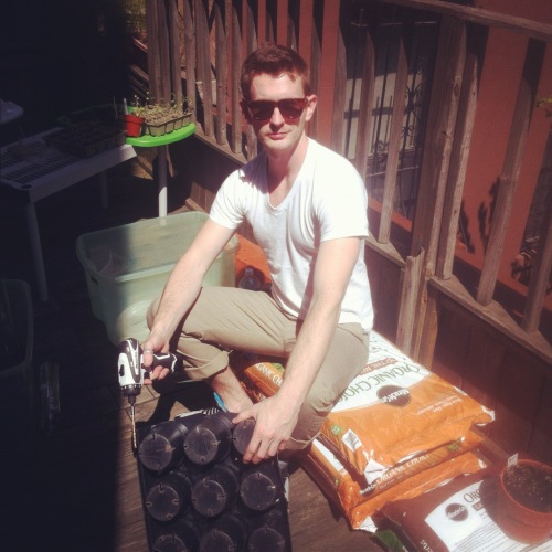 Building things with power tools. Obviously very manly-like.