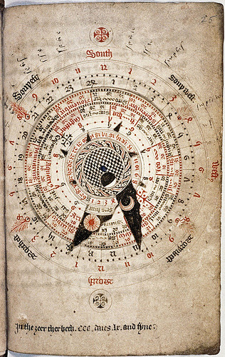 tagaoth:  An astrological calendar by Nicholas of Lynn ~1324