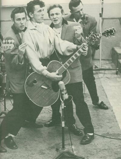 updownsmilefrown:  Gene Vincent and his Blue Caps