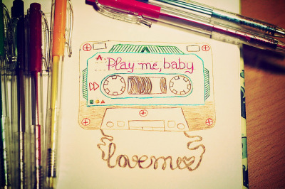 Play me, baby on Flickr.Via Flickr: Play me, I'm a special lovemix for you ;)