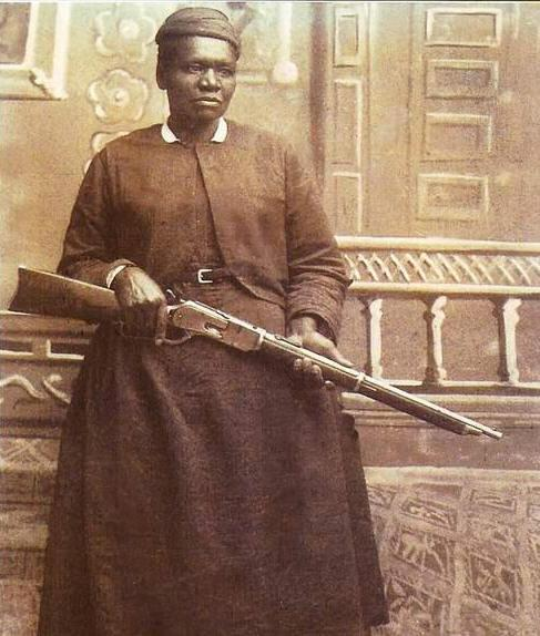 dearestandqueerest:  dailydiggings:  Although she may have been one of the toughest women ever to work in a convent, 'Black Mary' had earned the respect and devotion of most of the residents of the pioneer community of Cascade, Montana, before she died in 1914. In fact, Mary Fields was widely beloved. She was admired and respected throughout the region for holding her own and living her own way in a world where the odds were stackedagainst her. In a time when African Americans and women of any race enjoyed little freedom anywhere in the world, Mary Fields enjoyed more freedom than most white men.Fields dressed in the comfortable clothes of a man, including a wool cap and boots, and she wore a revolver strapped around her waist under her apron. At 200 pounds, she was said to be a match for any two men in Montana Territory. She had a standing bet that she could knock a man out with on