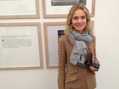 Spotted: supermodel Natalia Vodianova  admiring the art at Frieze New York. #FNY12