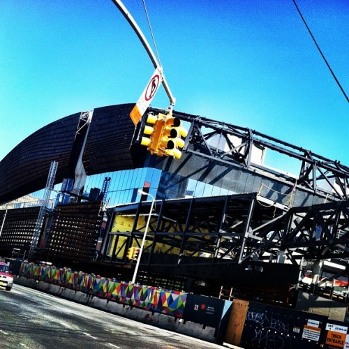 getting done. #brooklyn  (Taken with Instagram at Barclays Center)