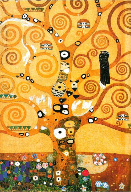 ereselcosmos:  Gustav Klimt, Tree of Life (detail).