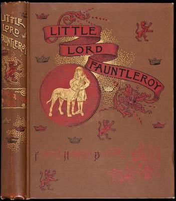 Little Lord Fauntleroy Burnett, Frances Hodgson.  New York, Scribner's, 1886.  Illustrated with drawings by Reginald B. Birch. (Large 8vo) original pictorial brown cloth. Custom clamshell box. First Edition.  First issue, with The De Vinne Press imprint at verso of last page of text and number 14 printed on the lower left margin of page 209. Author signed card laid in. Burnett's first childrens novel, Little Lord Fauntleroy was originally published as a serial in the St. Nicholas Magazine between November 1885 and October 1886, then as a book by Scribner's in 1886. Burnett based Little Lord Fauntleroy's character on her young son, Vivian. The accompanying illustrations by Reginald Birch set fashion trends, and the book was so popular that there was a craze of mothers dressing their sons with velvet suits and lace collars based on Oscar Wilde's attire, as well as looking like a hero. Little Lord Fauntleroy set a precedent in copyright law when in 1888 its author won a lawsuit against E. V. Seebohm over the rights to theatrical adaptations of the work. The work spawned a number of films, the most successful starring Freddie Bartholomew as Little Lord Fauntleroy, released in 1936