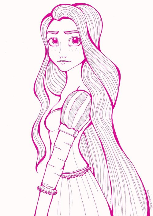 Rapunzel by ~Anchen