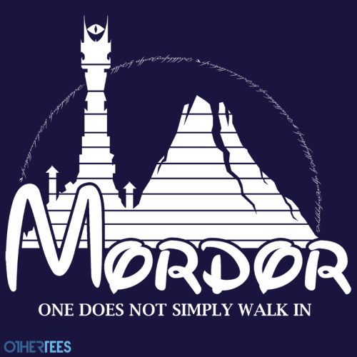 "othertees:   ""Happiest Place in Middle Earth"" by famousafterdeath. T-shirt on sale 6 - 9th May on OtherTees for 7.5£/9€/12$."