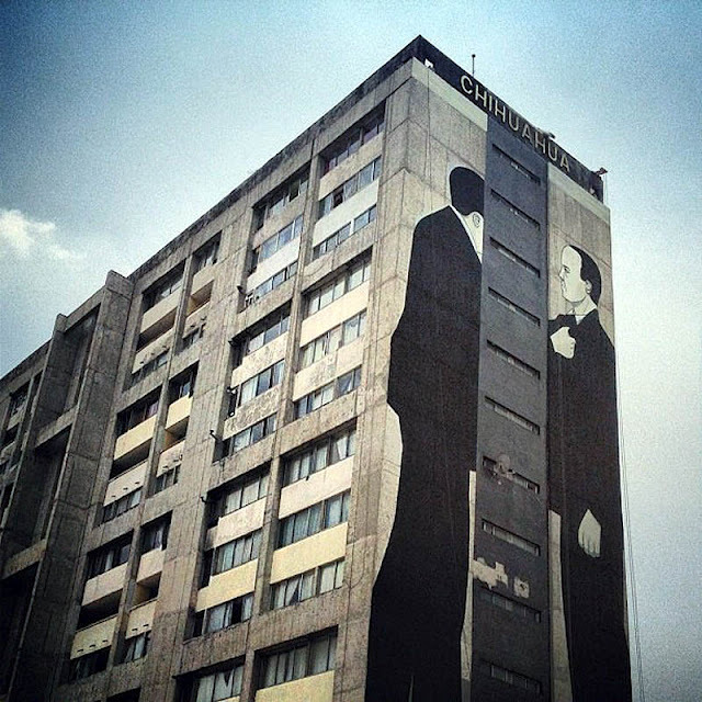 Escif, Edificio Chihuahua (All City Canvas Mexico) VIA