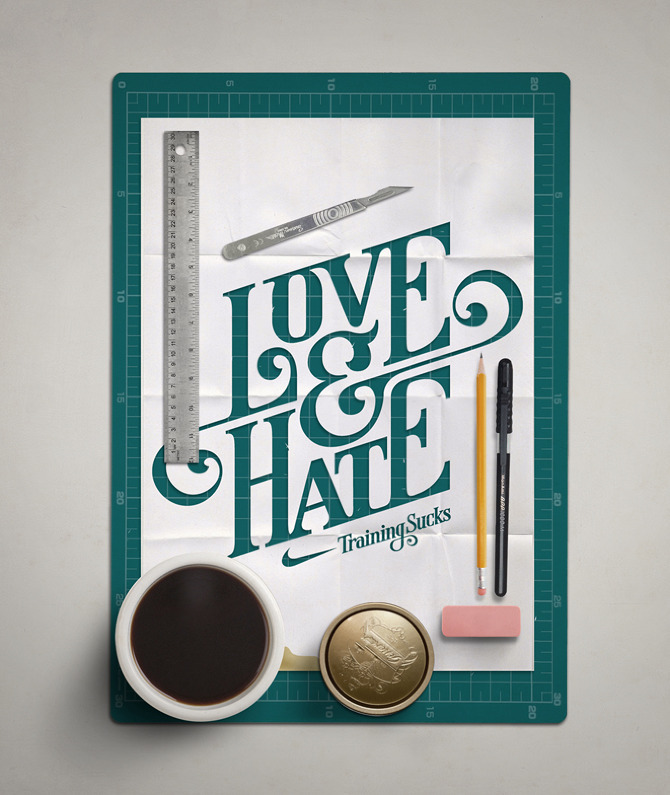 visualgraphic:  Love & Hate