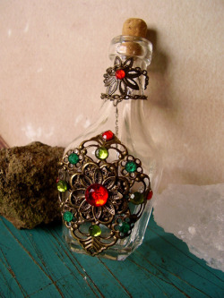 Morgana - OOAK Witch Bottle - Sold by Carolina Gonzalez on Flickr.