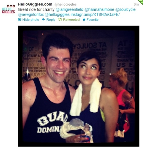 newgirlthings:  @iamgreenfield & @hannahsimone via @hellogiggles
