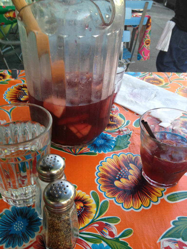 Brazilian sangria in the East Village