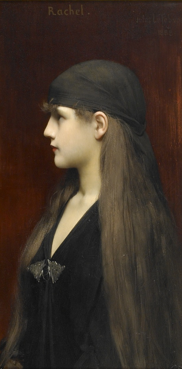 narcopolis:  poboh:  Rachel, Jules-Joseph Lefebvre. French Academic Painter (1836 - 1911)  …I'll just say this is me.