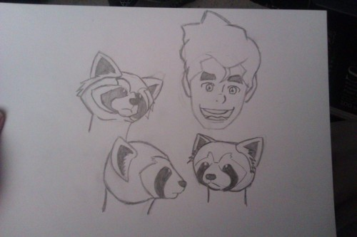 Got him to draw me Bolin and Pabu though.