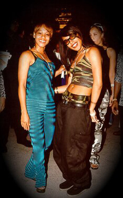 Left Eye & Aaliyah <3