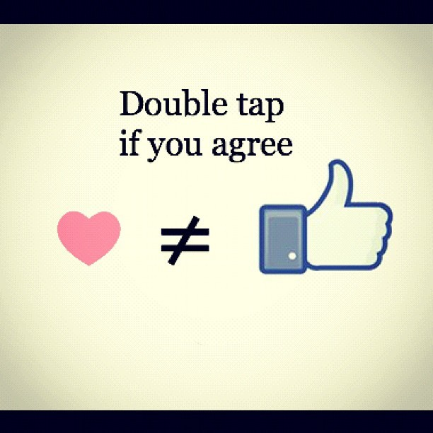 Instagram likes are not equal! (Taken with Instagram at Levent Life)