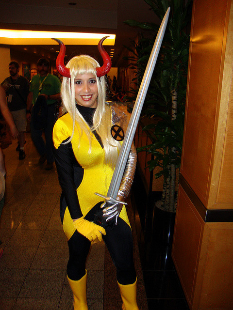 comicbookcosplay:  Magik