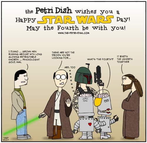 The Petri Dish - Strip 30 - Star Wars Day