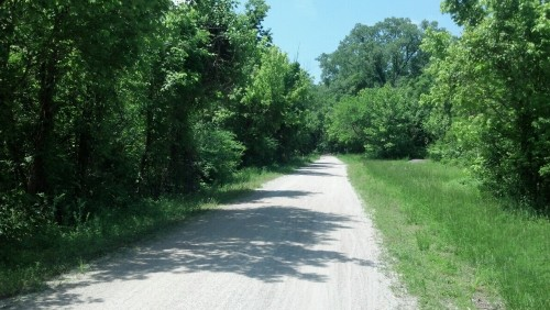 A beautiful afternoon on the Katy Trail.