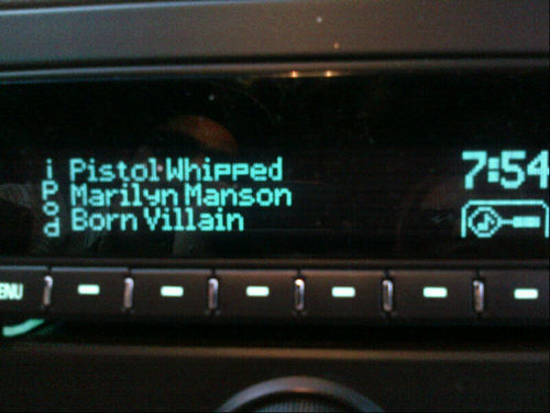 Genius at work…. I love this song… @marilynmansonView more Lindsay Lohan on WhoSay