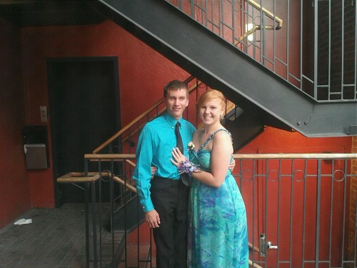 Had my prom last night. I look good. :-)