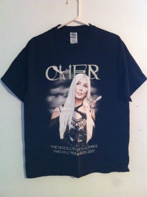 yard666sale:  CHER T SHIRT