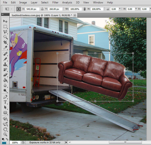 laughingsquid:  Handy Ways to Use Photoshop in Real Life