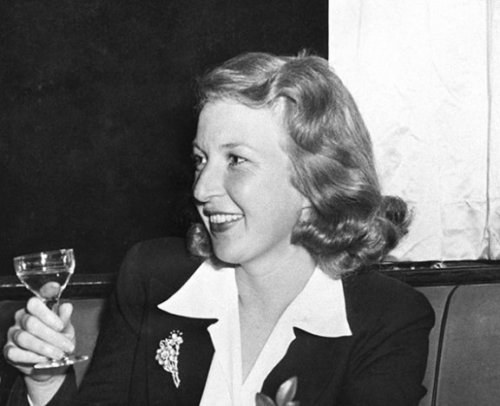 "fuckyeahhistorycrushes:  Martha Gellhorn, total babe. She dated Hemingway until she decided that she didn't want to be ""a footnote in someone else's life."" So she became an amazing journalist and war correspondent -  considered by The London Daily Telegraph, among others, to be one of the greatest war correspondents of the 20th century. She reported on virtually every major world conflict that took place during her 60-year career. She was also BFFs with Eleanor Roosevelt! Fabulous woman, total history crush."