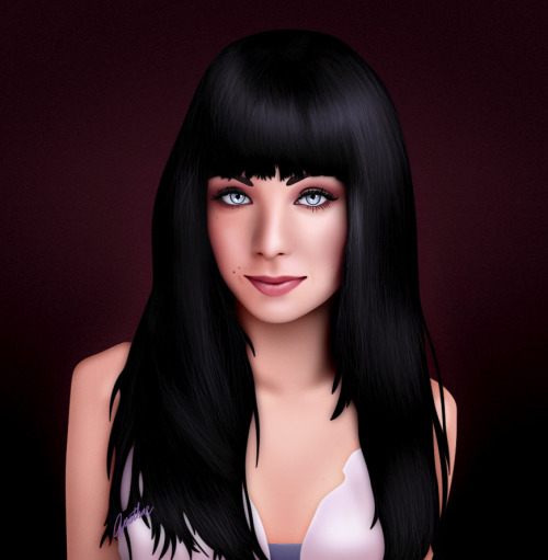I finished a new portrait of dancer/actress Ksenia Solo.  Click here to view it on my DeviantArt profile.