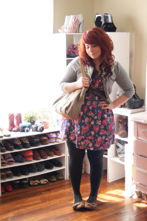 Ranunculus and Rose : an outfit post on the blawg! KaelahBee.com!