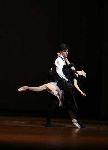 Beautiful Alessandra Ferri and Roberto Bolle on Dame aux Camelias