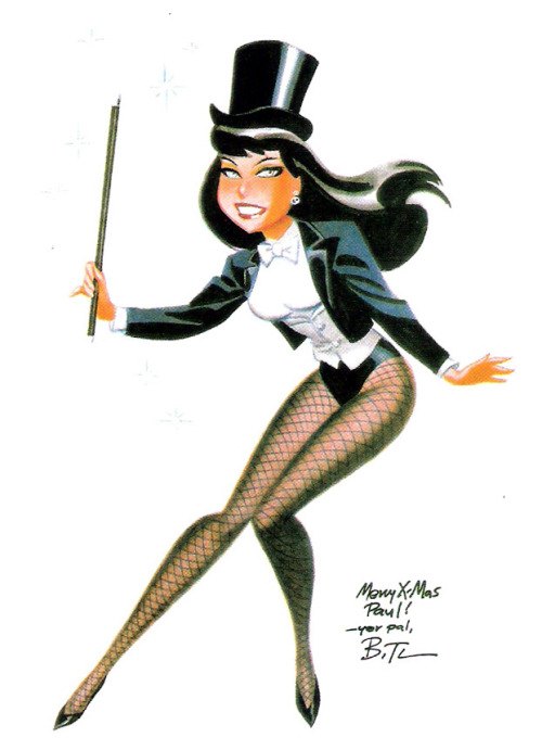 Zatanna Zatara is featured in our Character Spotlight! Kcehc ti tou! * http://comicattack.net/2012/05/charszatannazatara/  * Check it out!