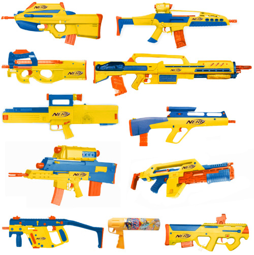 derekfett:  Anything looks safe in Yellow! (Most of these are real life weapons, just photoshopped colored)